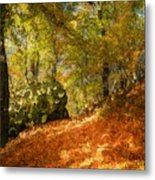 Place Of Power Metal Print