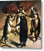 Plague: Dance Of The Rats Metal Print