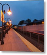 Plainfield Train Station Metal Print