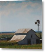 Plains Painted Barn Metal Print