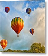 Plainville Balloons 2 Metal Print