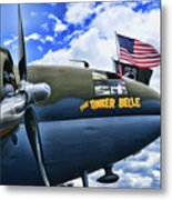 Plane - Curtiss C-46 Commando Metal Print