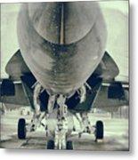 Plane Metal Print