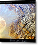 Planet Earth Eight Metal Print