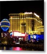 Planet Hollywood By Night Metal Print