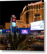 Planet Hollywood Hotel Metal Print by Andy Smy