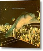 Planet Manhattan Metal Print