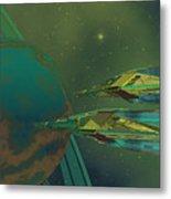 Planet Of Origin Metal Print