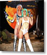 Planet Of The Space Vixens Metal Print