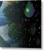 Planet Water  Metal Print