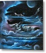 Planetary Falls Metal Print