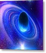 Planetary Galactic Metal Print
