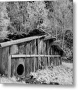 Plank House Metal Print