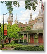 Plant Hall University Of Tampa Metal Print