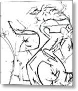 Plasmogamy027 Metal Print by TripsInInk