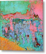 Plaster Abstract 8 By Michael Fitzpatrick Metal Print