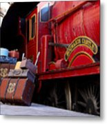 Platform Nine And Three Quarters Metal Print