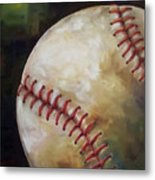 Play Ball Metal Print by Kristine Kainer