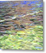 Play Of Light Metal Print