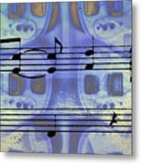 Play That Rock And Roll Metal Print