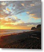 Playa Hermosa Puntarenas Costa Rica - Sunset A One Metal Print