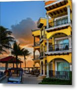 'playacar' Metal Print