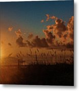 Playalinda Sunrise Metal Print