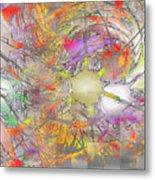 Playful Colors Of Energy Metal Print