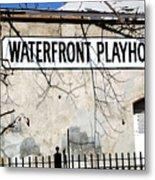 Playhouse Metal Print