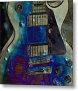 Playin The Blues Metal Print