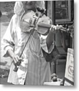 Playing For Food Metal Print