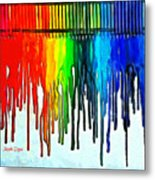 Playing With Colors Metal Print