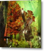 Playing With Fairies Metal Print
