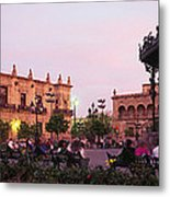 Plaza De Armas, Guadalajara, Mexico Metal Print