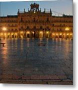 Plaza Mayor In Salamanca Metal Print
