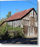 Pleasant Valley Barn 6 Metal Print