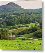 Pleasant Valley Countryside Metal Print