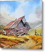 Pleasent Valley Barn Metal Print