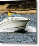 Pleasure Boat Metal Print