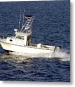 Pleasure Fishing Boat Metal Print