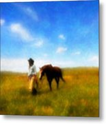 Pleasure Pasture Metal Print