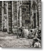 Plight Of The Homeless Metal Print