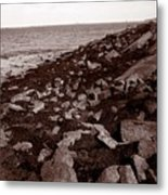 Plimouth Harbor Metal Print