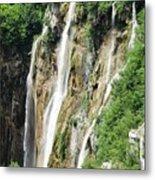 Plitvice Croatia Waterfalls 2 Metal Print