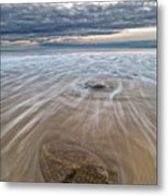 Plum Island Wave Energy Metal Print