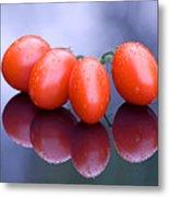 Plum Tomatoes Metal Print