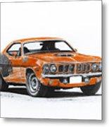Plymouth Barracuda 1973 Hemi Cuda Metal Print