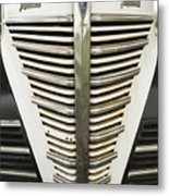 Plymouth Grille Metal Print