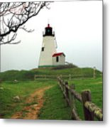 Plymouth Gurnet Lighthouse Metal Print