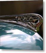 Art Deco Plymouth Hood Ornament Metal Print